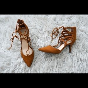 MARC FISHER STRAPPY HEELS (NEW)